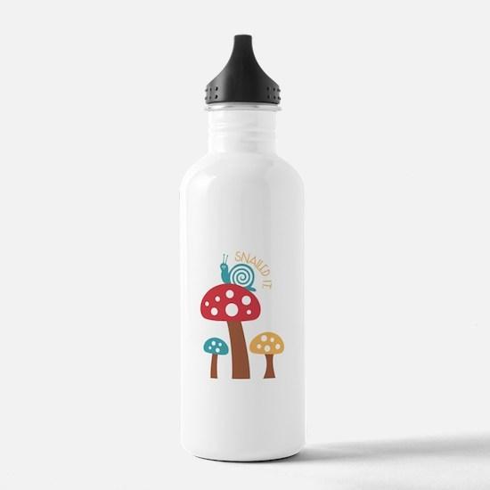 Snailed It Water Bottle