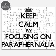Keep Calm by focusing on Paraphernalia Puzzle