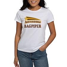 Awesome Bagpiper Tee