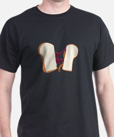 Peanut Butter Jelly Sandwich T-Shirt
