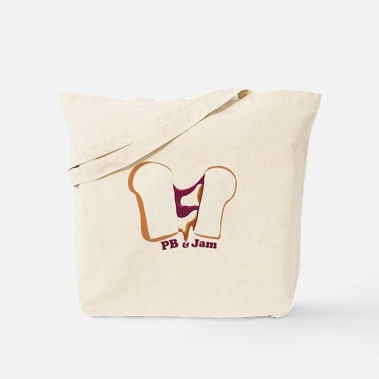 PB & Jam Tote Bag