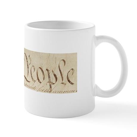 """We the People"" Mug"