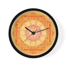 Sun Yantra Wall Clock