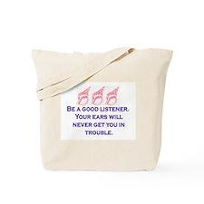 GOOD LISTENER Tote Bag