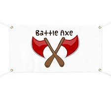 Battle Axe Banner