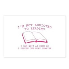 I'm Not Addicted To Reading Postcards (Package of