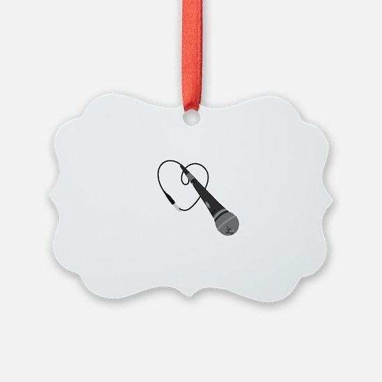 Microphone Ornament
