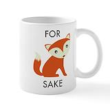 For fox sake Small Mugs (11 oz)
