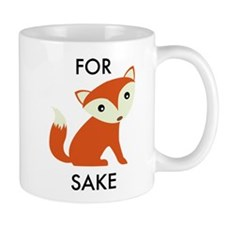 For Fox Sake Small Mug