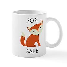 For Fox Sake Small Mug