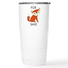 For Fox Sake Travel Mug