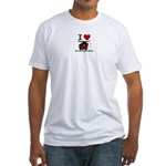 red light district Fitted T-Shirt