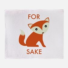 For Fox Sake Stadium Blanket