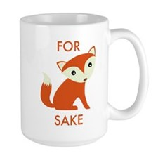 For Fox Sake Ceramic Mugs
