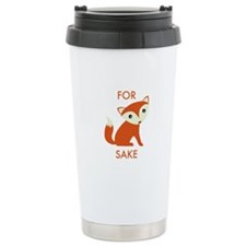 For Fox Sake Travel Mug