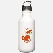 For Fox Sake Water Bottle