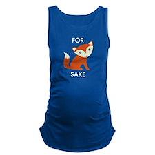 For Fox Sake Maternity Tank Top