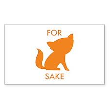 For Fox Sake Decal
