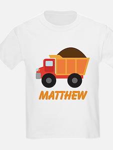 Dump Truck Construction personalized T-Shirt