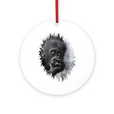 Gorilla 001 Ornament (Round)