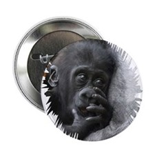 "Gorilla 001 2.25"" Button"
