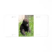 Gorilla-Baby002 Aluminum License Plate