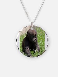Gorilla-Baby002 Necklace