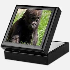 Gorilla-Baby002 Keepsake Box