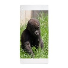Gorilla-Baby002 Beach Towel
