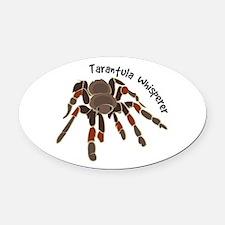 Tarantula Whisperer Oval Car Magnet