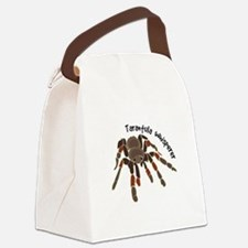 Tarantula Whisperer Canvas Lunch Bag