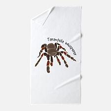Tarantula Whisperer Beach Towel