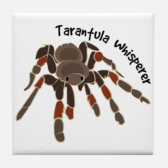 Tarantula Whisperer Tile Coaster