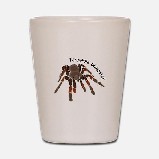 Tarantula Whisperer Shot Glass