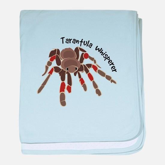 Tarantula Whisperer baby blanket