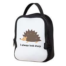 I Always Look Sharp Neoprene Lunch Bag
