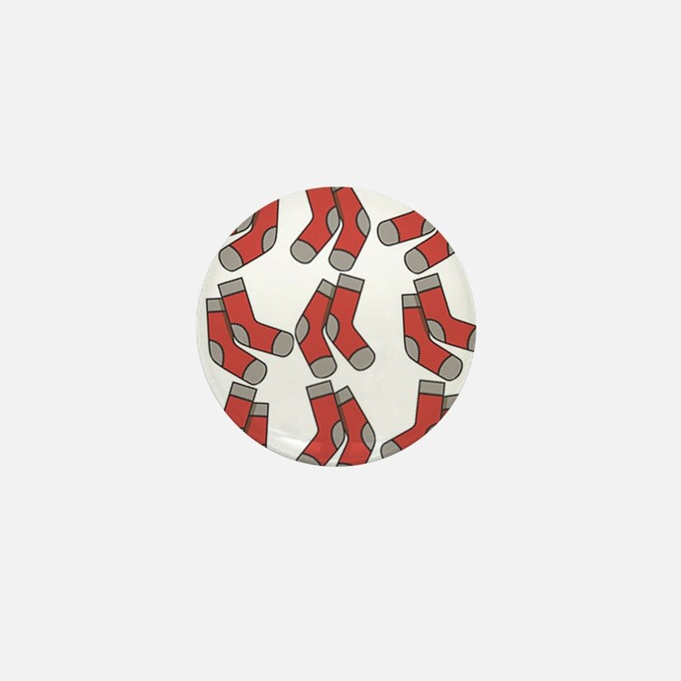 red socks Mini Button