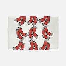 red socks Rectangle Magnet