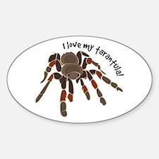 Love My Tarantula Decal