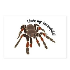 Love My Tarantula Postcards (Package of 8)