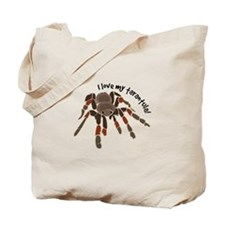 Love My Tarantula Tote Bag