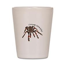 Love My Tarantula Shot Glass