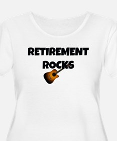 Retirement Rocks - Unplugged Plus Size T-Shirt