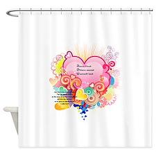 Joy - 1 John 3 23 Shower Curtain