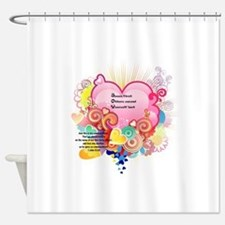 Joy - 1 John 3 23 Shower Curtain