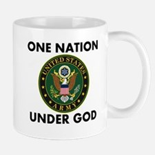 One Nation Under God Army Mugs