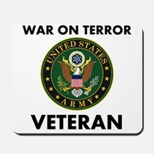 War On Terror Veteran Mousepad