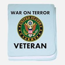 War On Terror Veteran baby blanket