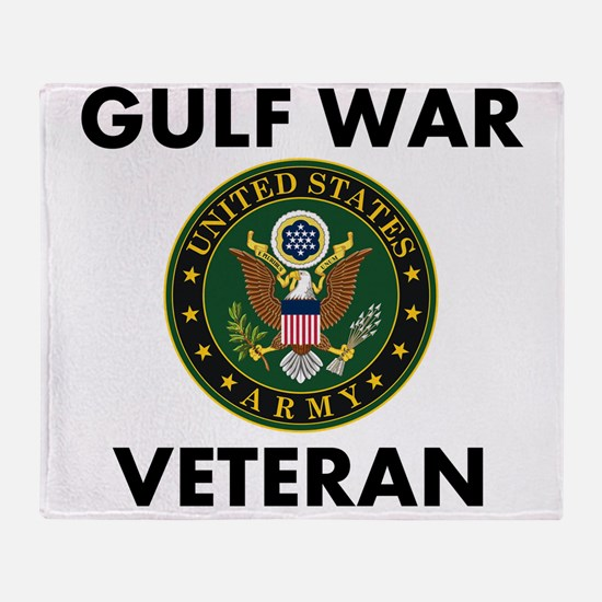 Gulf War Veteran Throw Blanket