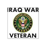 Iraq War Veteran Sticker